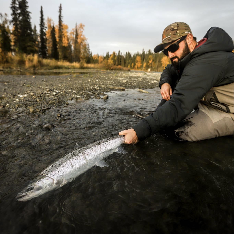 fall steelhead fishing