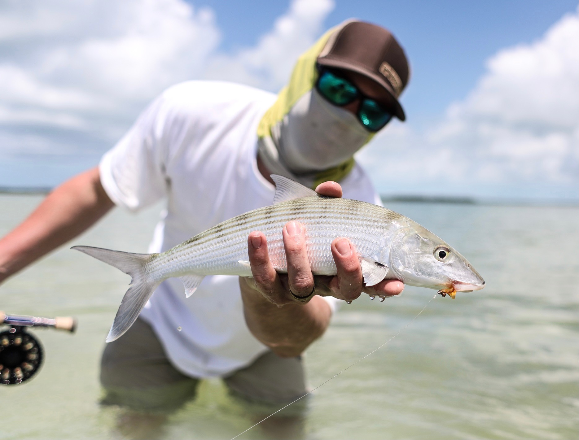 lower keys bonefish on fly