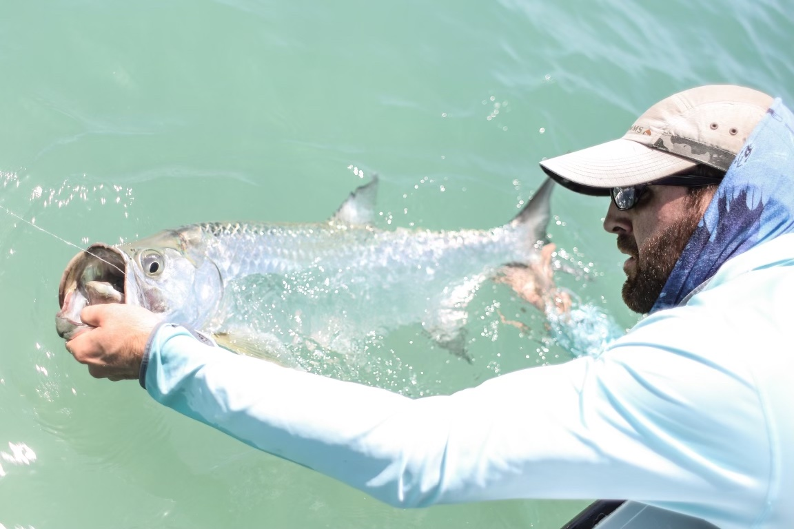 juvenile tarpon fishing